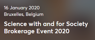 Science with and for Society - Brokerage Event 2020